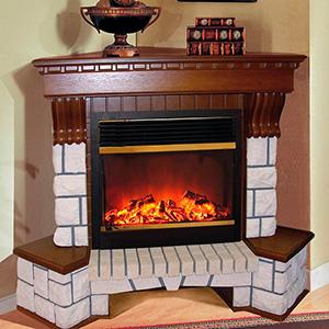 Купить камин угловой электрический недорого барбекю стационарные с крышей